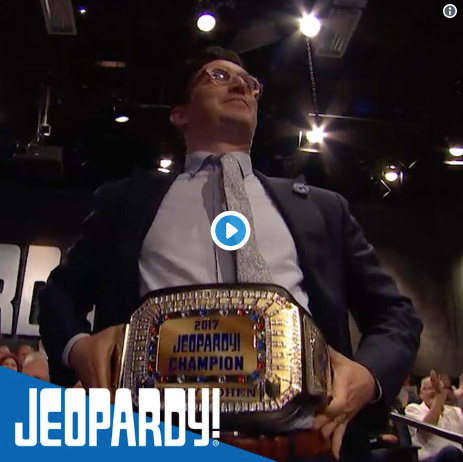 Jeopardy! Championship Belt