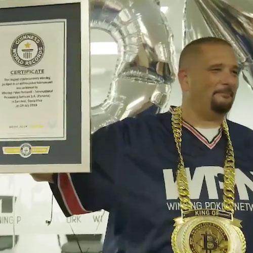 Guinness Book World Record – Bitcoin Poker
