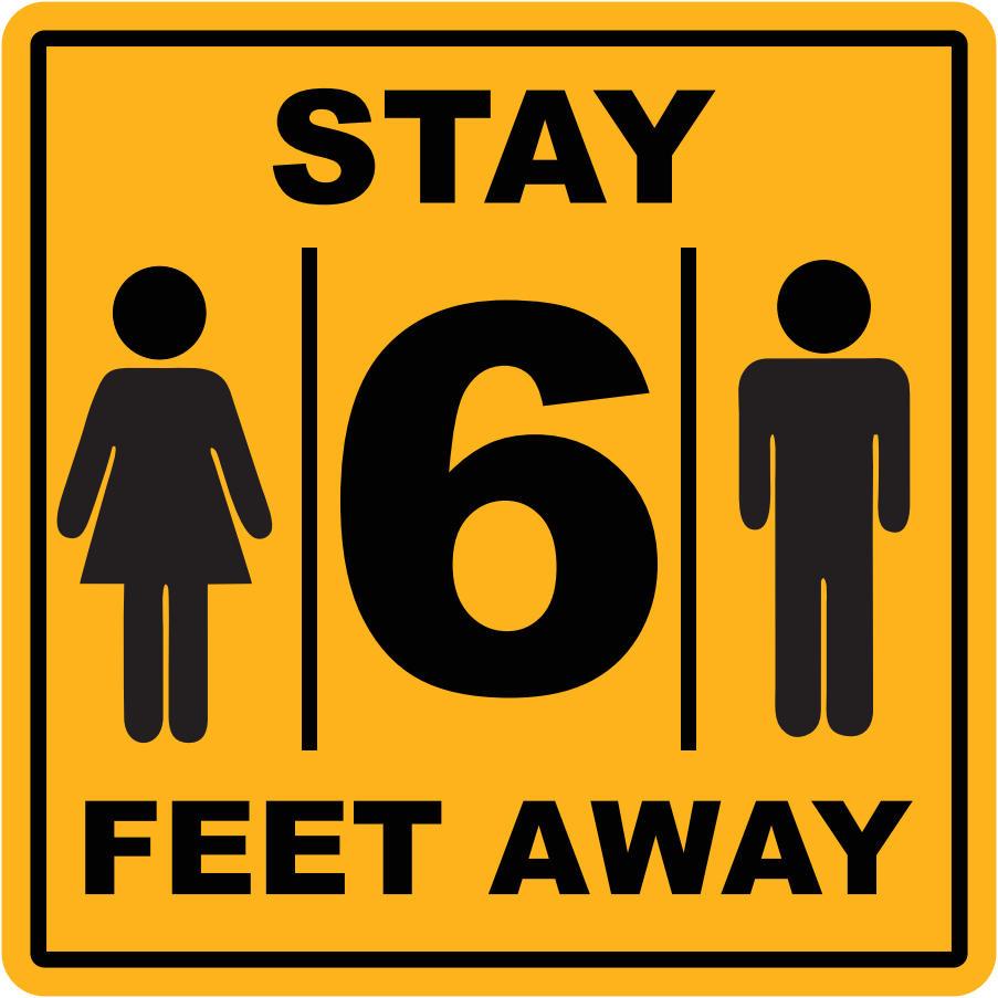 stay-6-feet-away-label